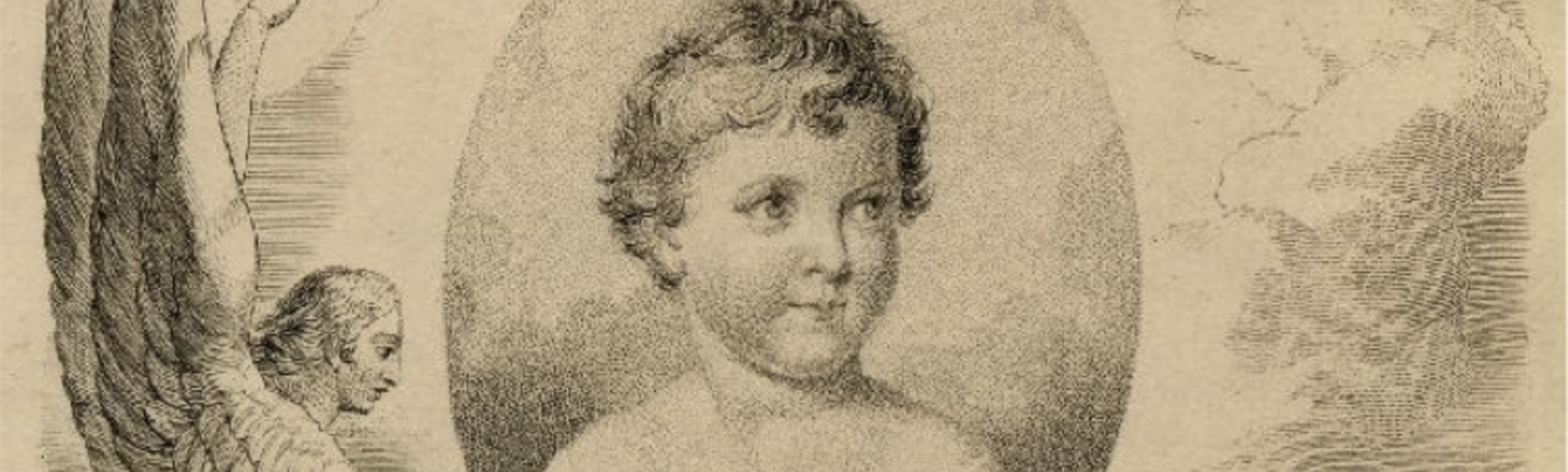 Blake engraving of children and childhood