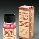 Photograph of pink pills