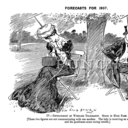 Cartoon from Punch, 'Forecasts for 1907'