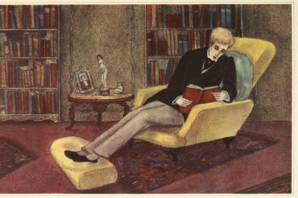 Illustration from The Picture of Dorian Gray