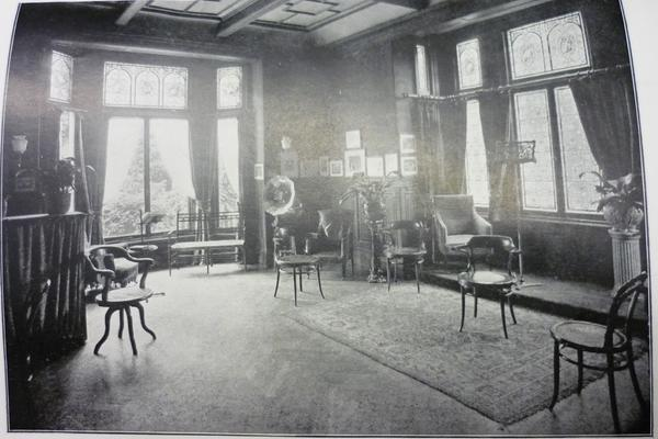 Photograph of a lecture room